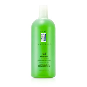 Rusk Sensories Full Green Tea and Alfalfa Bodifying Shampoo  1000ml/33.8oz