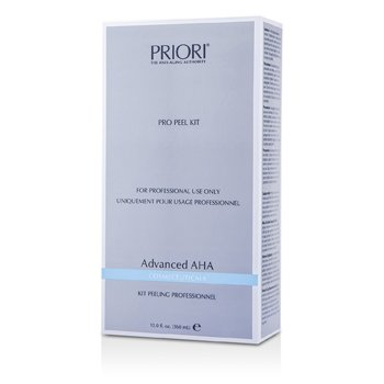 Priori Advanced AHA PRO Set Exfoliantee ( Tama�o Sal�n ) : Soluci�n Pre-Exfoliantee+  Gel Exfoliantee Multi capas  2x180ml/6oz