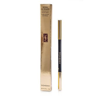 Yves Saint Laurent Dessin Du Regard Long Lasting Eye Pencil - No. 1 (Velvet Black)  1.25g/0.04oz