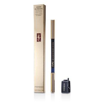 Yves Saint Laurent Dessin Du Regard Lápiz Perfilador de Labios de Larga Duración- No. 3 ( Oriental Blue )  1.25g/0.04oz