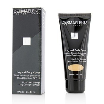Dermablend Leg & Body Cover SPF 15 (Full Coverage & Long Wearability) - Caramel  100ml/3.4oz