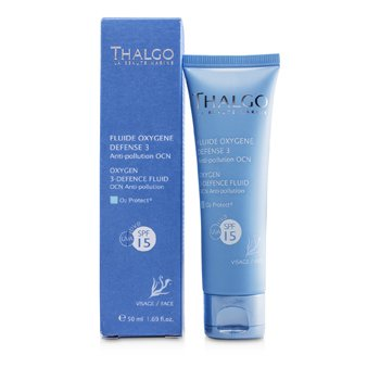 Thalgo Oxygen 3 Defence Fluid SPF15 UVA  50ml/1.69oz