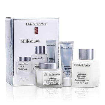 Elizabeth Arden Millenium Set: Emulsi Pemulihan Waktu Pagi+ Krim Pemulihan Waktu Malam + Krim Pemulihan Untuk Mata  3pcs
