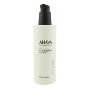 Ahava Time To Clear All In One Toning Pembersih  250ml/8.5oz