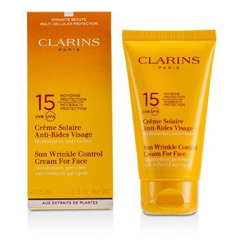 Clarins Creme protetor solar Sun Wrinkle Control Moderate SPF 15  75ml/2.7oz