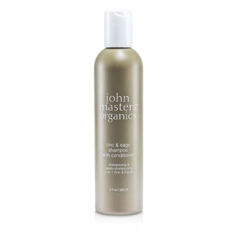 John Masters Organics Zinc & Sage Shampoo With Conditioner  236ml/8oz