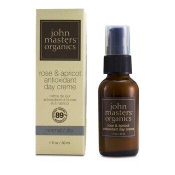John Masters Organics Rose & Apricot Crema Antioxidante Día ( Piel Normal/Seca )  30ml/1oz