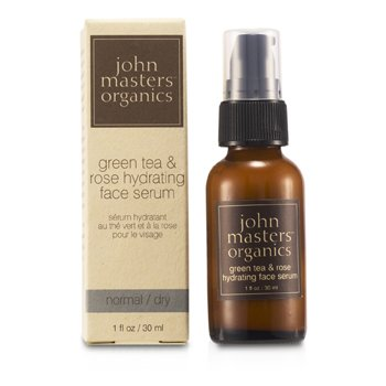 John Masters Organics Green Tea & Rose Hydrating Face Serum (For Normal/ Dry Skin)  30ml/1oz