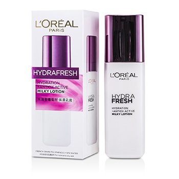 L'Oreal Hydra Fresh All Day Hydration Milky Lotion  125ml/4.2oz