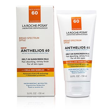 La Roche Posay Anthelios 60 Melt-In Sunscreen Milk (For Face & Body) (Box Slightly Damaged)  150ml/5oz