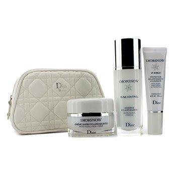 Christian Dior Set Programa Blanqueador Diorsnow White Reveal  : Esencia Blanqueadora +  Crema + Protecci�n Hidratante SPF 50 + Neceser  3pcs+1bag
