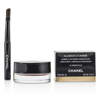 Chanel Illusion D'Ombre Màu Mắt Lâu Trôi - # 82 Emerville  4g/0.14oz