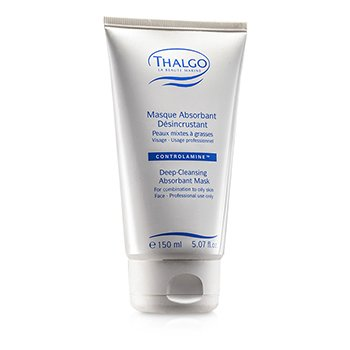 Thalgo Deep Cleansing Abosrbant Mask ( Kombinasjon til fet hud ) ( Salongstr. )  150ml/5.07oz