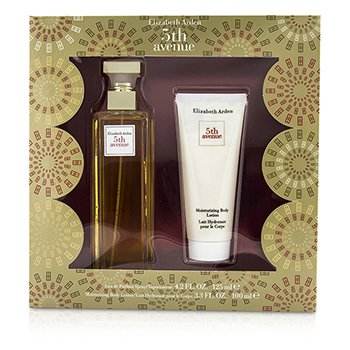 Elizabeth Arden Estuche 5th Avenue : Eau De Parfum Spray 125ml/4.2oz + Loción Hidratante Corporal 100ml/3.3oz  2pcs