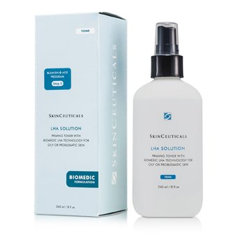 Skin Ceuticals LHA Solution Priming Toner (For Oily or Problematic Skin)  240ml/8oz