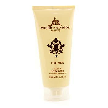 Woods Of Windsor Hair & Body Wash  200ml/6.7oz