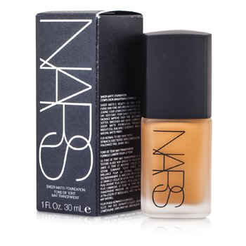 NARS Sheer Matte Foundation - Cadiz (Medium-Dark 3 - Medium-Dark w/ Caramel & Red Undertones)  30ml/1oz