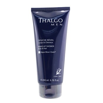 Thalgo Thalgomen Wake-Up Shower Gel - Body & Hair  200ml/6.7oz