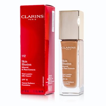 Clarins Skin Illusion Natural Radiance Base de Maquillaje SPF 10 - # 112 Amber  30ml/1.1oz