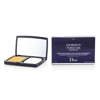 Christian Dior Diorskin Forever Compact Flawless Perfection Fusion Wear Maquillaje SPF 25 - #040 Honey Beige  10g/0.35oz