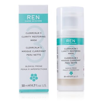 Ren Clearcalm 3 Mascarilla Restauradora Blanqueadora  50ml/1.7oz