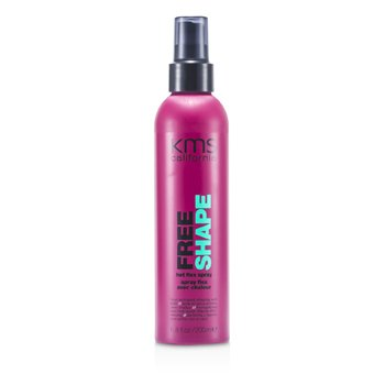 KMS California Free Shape Hot Flex Spray (Heat-Activated Shaping & Hold)  200ml/6.8oz