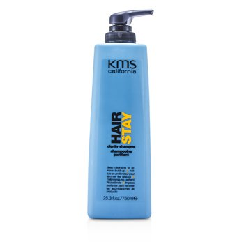 KMS California Hair Stay Clarify Shampoo (Deep Cleansing To Remove Build-Up)  750ml/25.3oz
