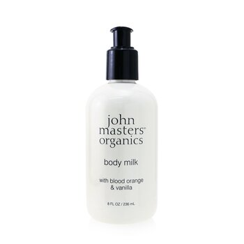 John Masters Organics Blood Orange & Vanilla Body Milk  236ml/8oz