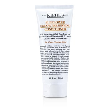 Kiehl's Sunflower Acondicionador Color Conservador (Cabellos Teñidos)  200ml/6.8oz