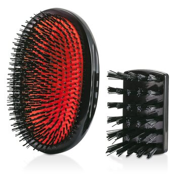 Mason Pearson Boar Bristle - Large Extra Military Pure Bistle Cepillo de Cabello Grande (Dark Ruby)  1pc