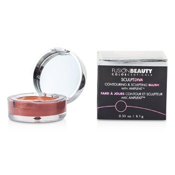 Fusion Beauty SculptDiva Contouring & Sculpting Blush With Amplifat - # Crave  8.5g/0.3oz