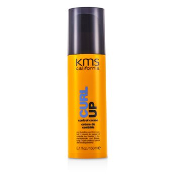 KMS California Curl Up Control Creme (Curl Bundling & Frizz Control)  150ml/5.1oz