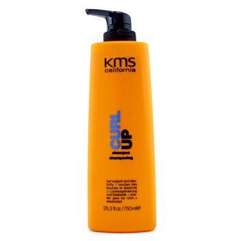 KMS California Szampon do włosów kręconych Curl Up Shampoo (Curl Support & Elasticity)  750ml/25.3oz