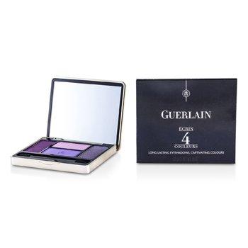 Guerlain سایه چشم 4 رنگ با ماندگاری طولانی - شماره 01 بنفش  7.2g/0.25oz