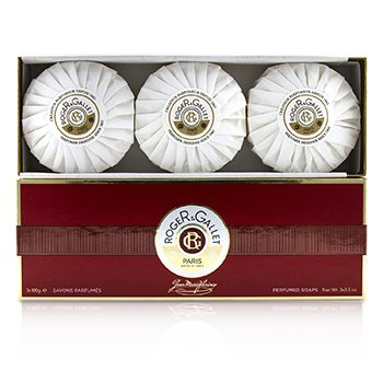 Roger & Gallet Jean Marie Farina Perfumed Soap Coffret  3x100g/3.5oz