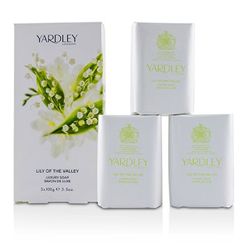 Yardley Lily Of The Valley Розкішне Мило  3x100g/3.5oz