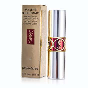 Yves Saint Laurent Volupte Sheer Candy Pintalabios (Bálsamo Brillo Color Cristal) - # 05 Mouthwatering Berry  4g/0.14oz