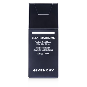 Givenchy Eclat Matissime Fluid Foundation SPF 20 - # 3 Mat Sand  30ml/1oz