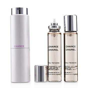 Chanel Chance Eau Tendre Twist & Spray Eau De Toilette  3x20ml/0.7oz