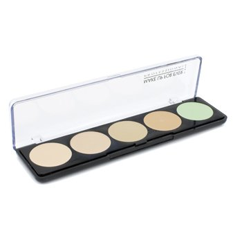 Make Up For Ever 5 Camouflage Cream Palette - # 1 (Very Light Complexions)  10g/0.35oz