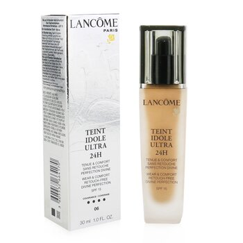 Lancôme Base Teint Idole Ultra 24H Wear & Comfort Foundation SPF 15 - # 06 Beige Cannelle  30ml/1oz