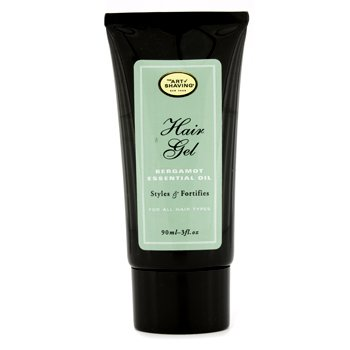 The Art Of Shaving Hair Gel - Bergamot Essential Oil - For All Hair Types (Unboxed)  90ml/3oz