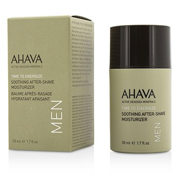 Ahava Odżywka nawilżająca po goleniu Time To Energize Soothing After-Shave Moisturizer  50ml/1.7oz