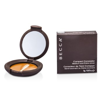 Becca Compact Concealer Medium & Extra Cover - # Fudge  3g/0.07oz