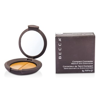Becca Compact Concealer Medium & Extra Cover - # Syrup  3g/0.07oz