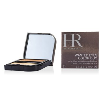 Helena Rubinstein Wanted Eyes Color Duo - No. 53 Captivating Beige & Feline Brown  2.6g/0.08oz