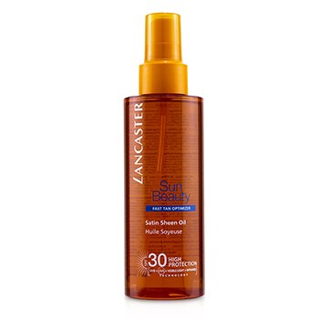 Lancaster Sun Beauty Satin Sheen Aceite Optimizante Bronceado SPF 30  150ml/5oz