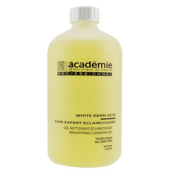 Academie White Derm Acte Brightening Cleansing Gel (Salon Size)  500ml/16.9oz