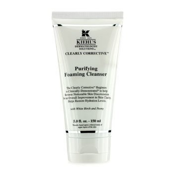Kiehl's Clearly Corrective Purifying Foaming Cleanser -Pembersih  150ml/5oz