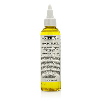 Kiehl's Magic Elixir Hair Restructuring Concentrate With Rosemary Leaf And Avocado (For All Hair & Scalp Types)  125ml/4.2oz